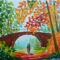 """Autumn Bridge"""