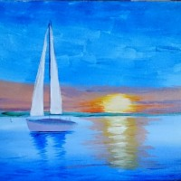 """Sunset Sail"""