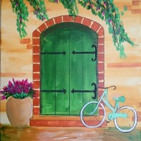 """Green Gate Door"""