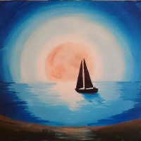 """Moonlight Sail"""
