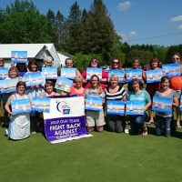 Painting Party Fundaiser for Relay For Life at Big Oak Golf Course
