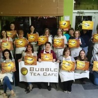 Bubble Tea Cafe painting party